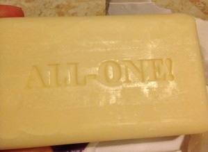 Check in Monday to see how to turn this bar of soap into yummy body wash!