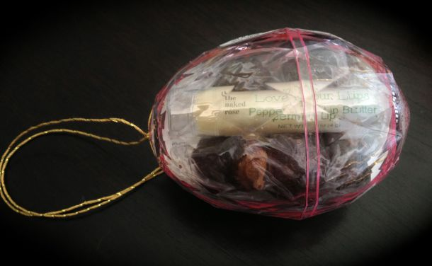 Soap Nuts & Lip Butter Inside a Jewel Like Egg $10 plus shipping $3