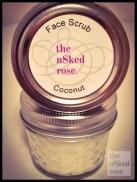 Face Scrub 4oz Jar $5