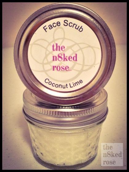 Face Scrub 4 oz Jar $5