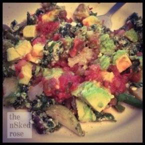 Breakfast Photo Blog: VeggieScramble